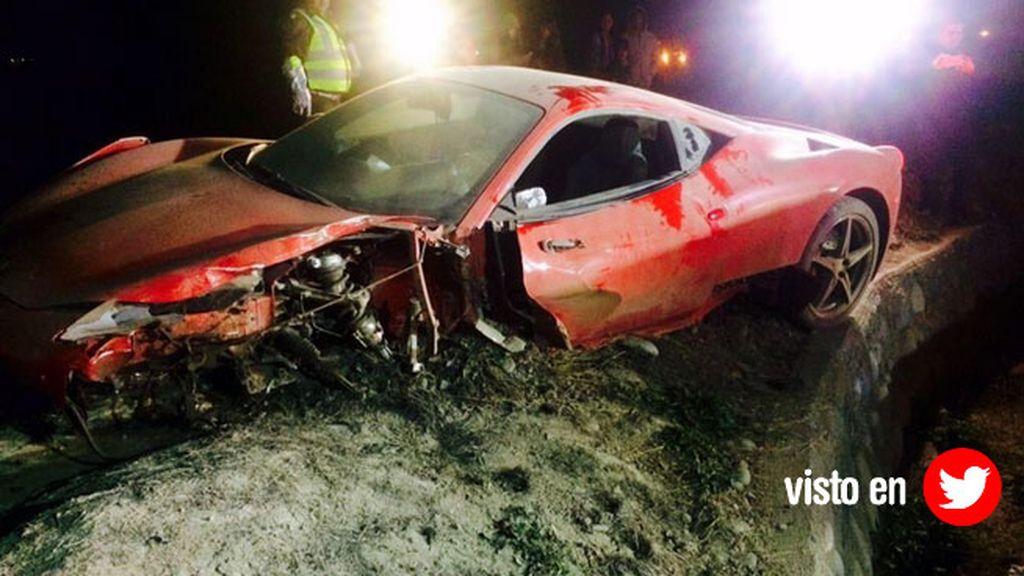 El accidente de Arturo Vidal