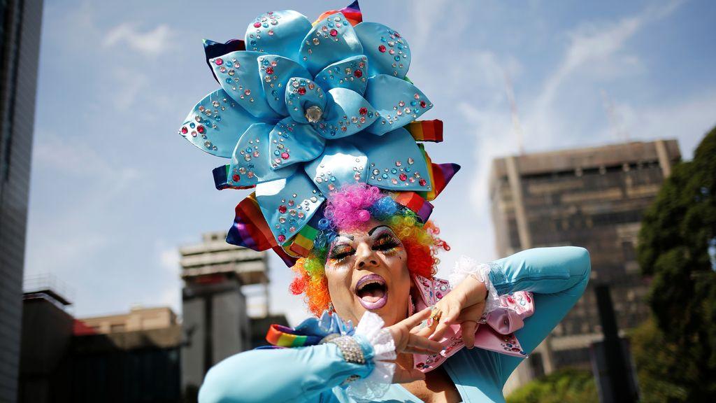 Sao Paulo celebra su fiesta del Orgullo Gay