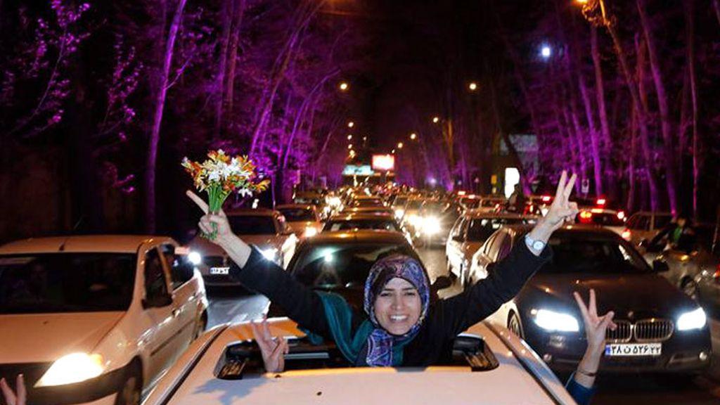 Irán festeja el acuerdo nuclear con EEUU