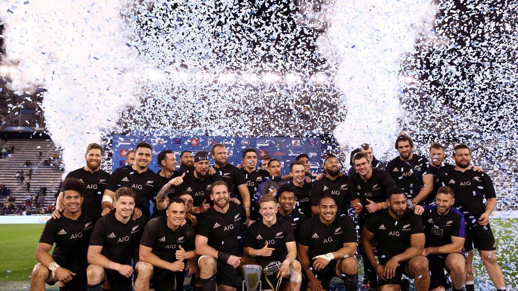 Los All Blacks ganan en Buenos Aires a la selección argentina de rugby