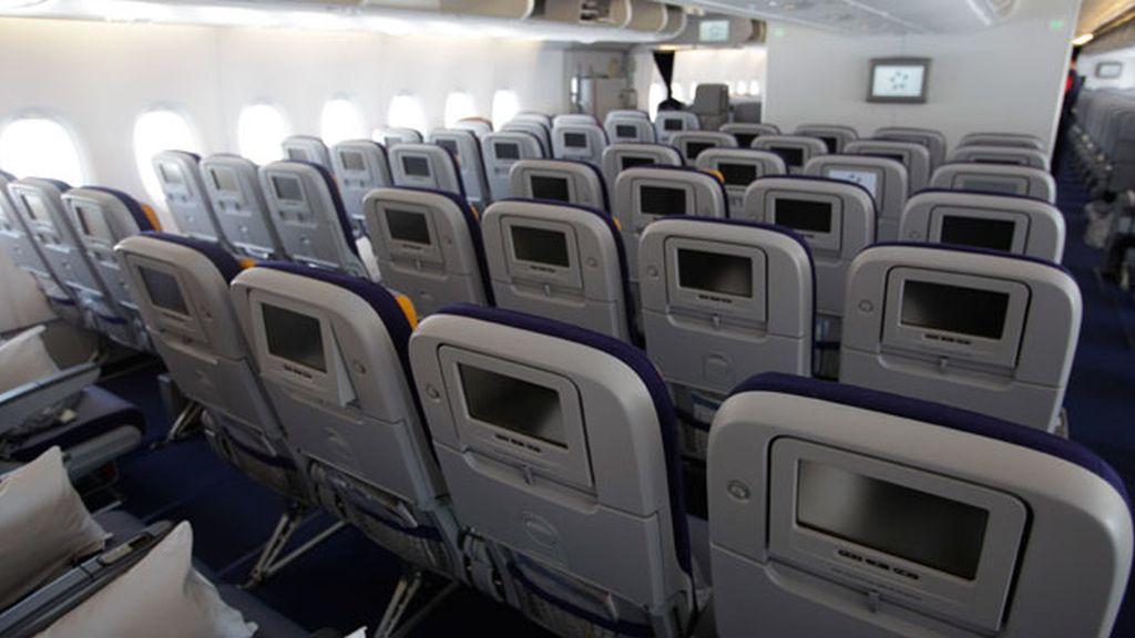 avión interior