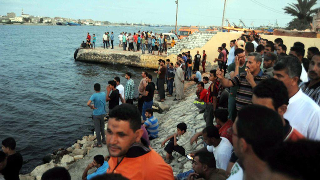 Se hunde una embarcación con 600 inmigrantes frente a las costas de Egipto