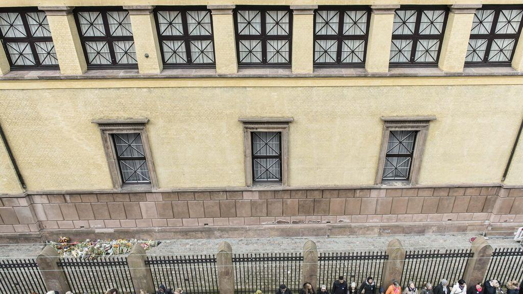 Homenaje en Copenhague, atentados sinagoga