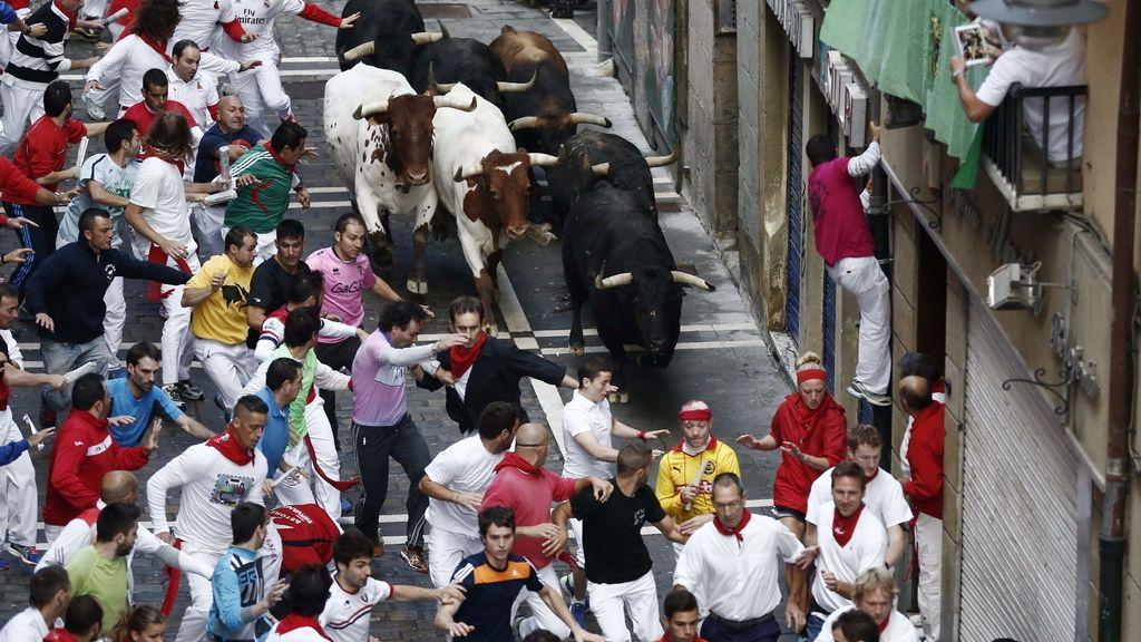 Quinto encierro de San Fermín 2014