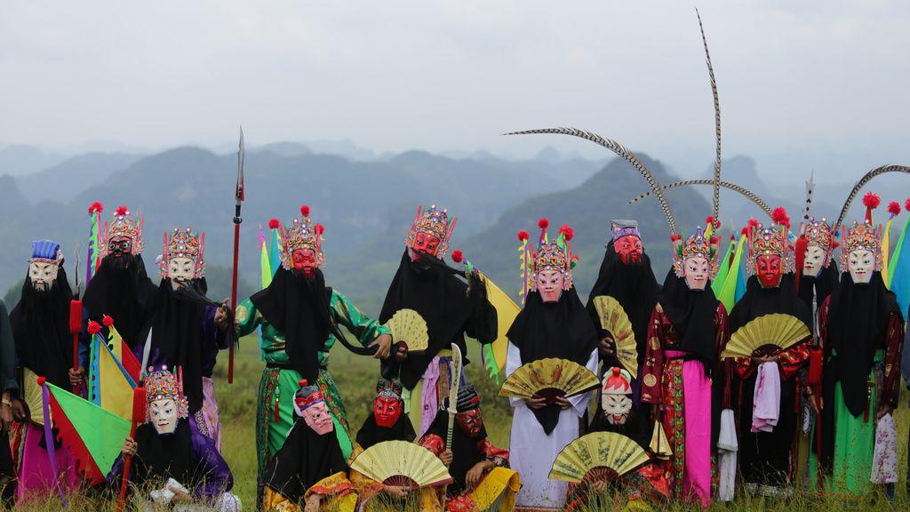 El otoño comienza en China, según el calendario lunar