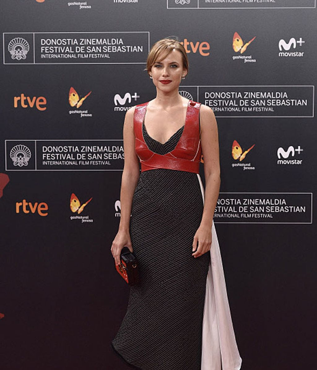 Aura Garrido fue una de las más atrevidas con su estilismo