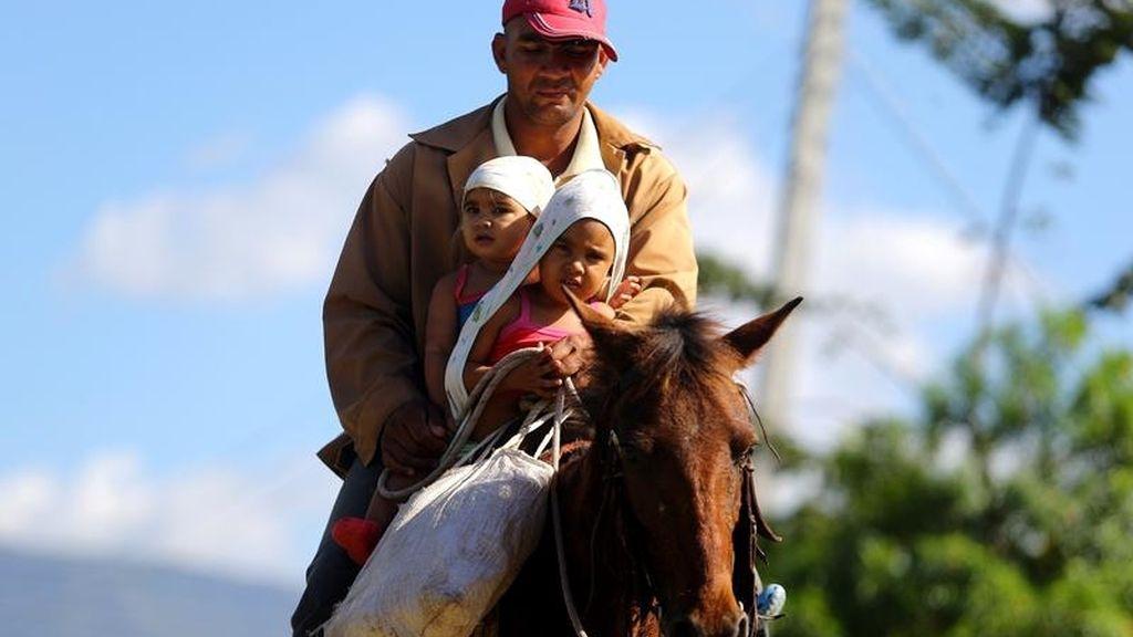 A caballo en Cuba