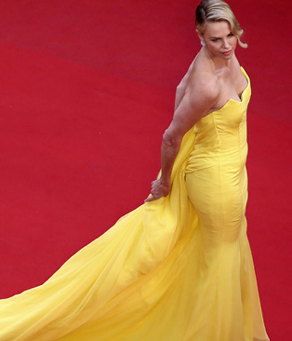 Charlize Theron, en Cannes