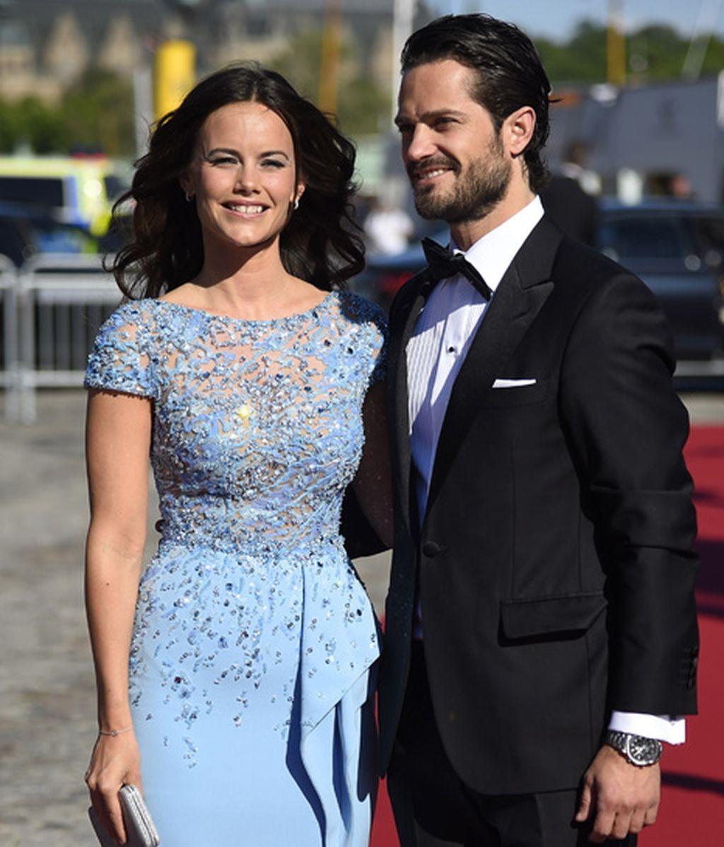 Carlos Felipe de Suecia y Sofia Helkvist, radiantes antes de su gran día