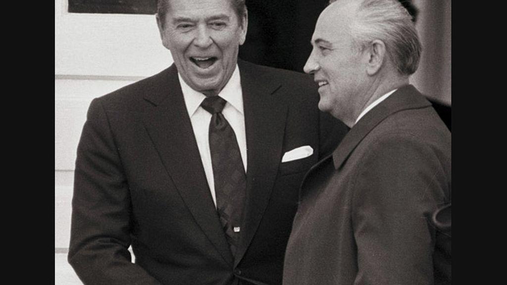 Reagan y Gorbachov