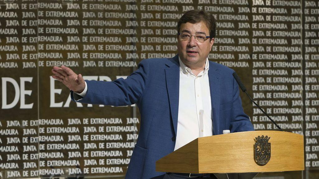 Fernández Vara hace balance de sus cien primeros días al frente de la junta
