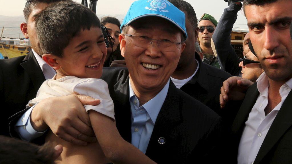 La guerra civil en Siria deja al menos 255.000 muertos, según Ban Ki Moon