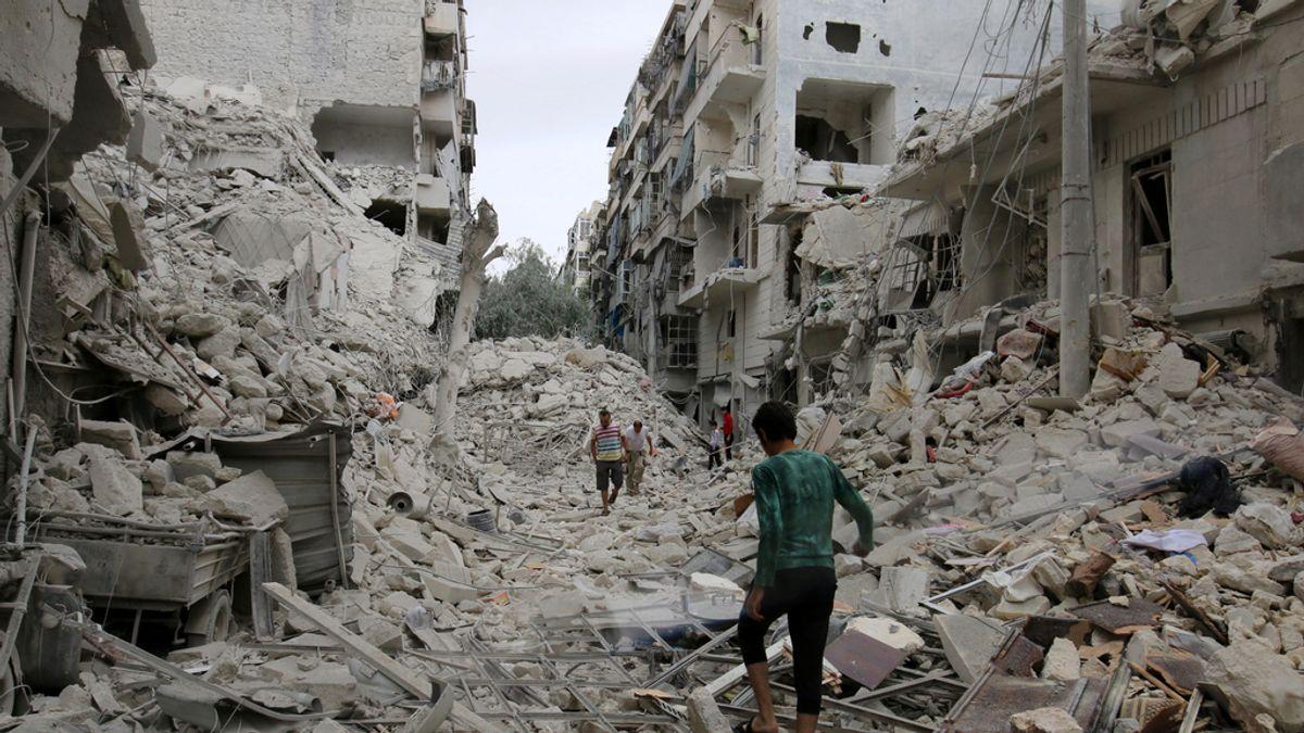 Alepo, el símbolo de la guerra en Siria