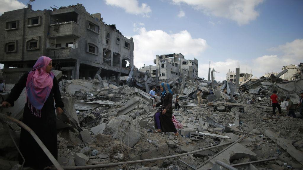 Comienza la tregua humanitaria en Ganza