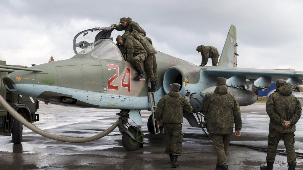 Rusia retira sus tropas de Siria
