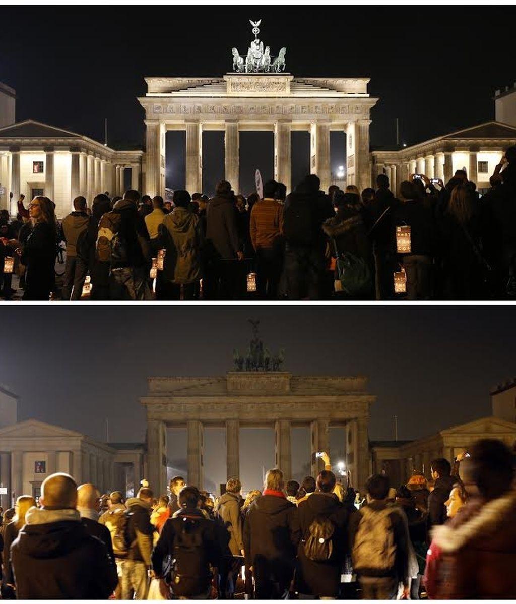 La Puerta de Bradenburgo en Berlín