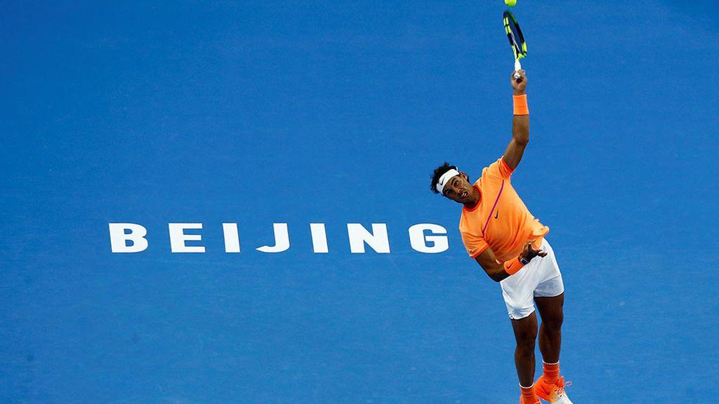 Nadal debuta con victoria en el Open de China (04/10/2016)