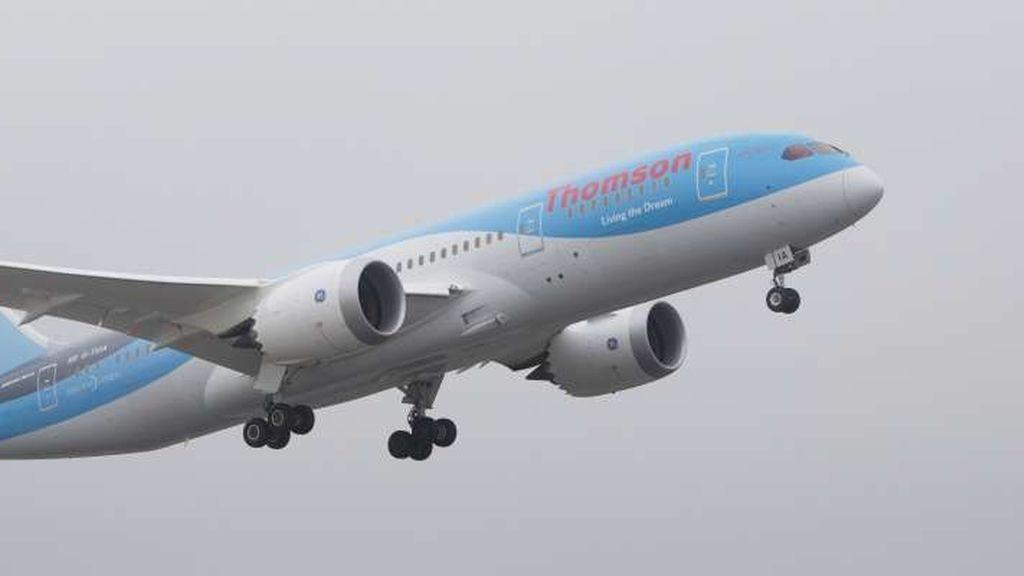 Un avión de Thomson Airways se acercó a un misil en agosto