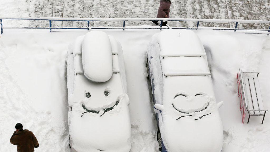 La nieve cubre Siberia