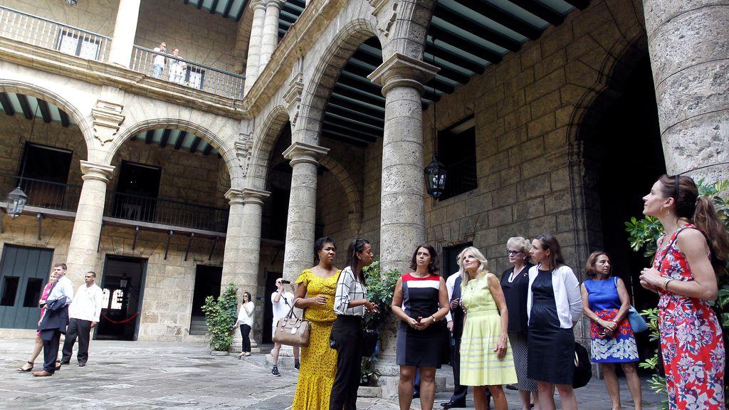 La mujer del vicepresidente de EE.UU. visita La Habana