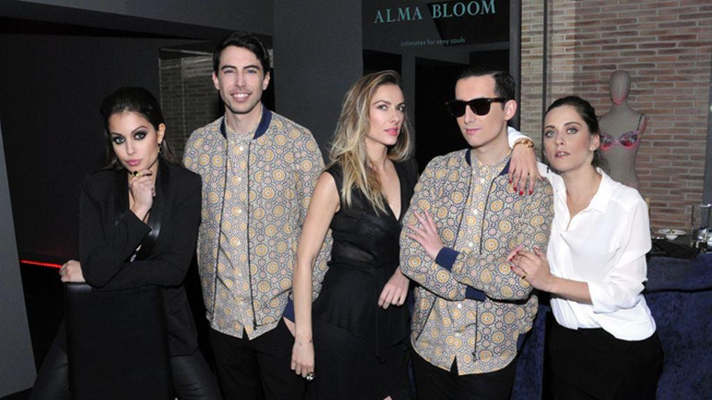 Vestidos de H&M posamos con tres auténticas bellezas: Hiba Abouk, María León y Kira Miró