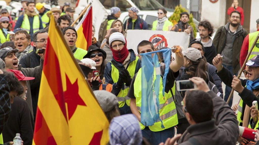 Marchas de la Dignidad. Foto: EFE