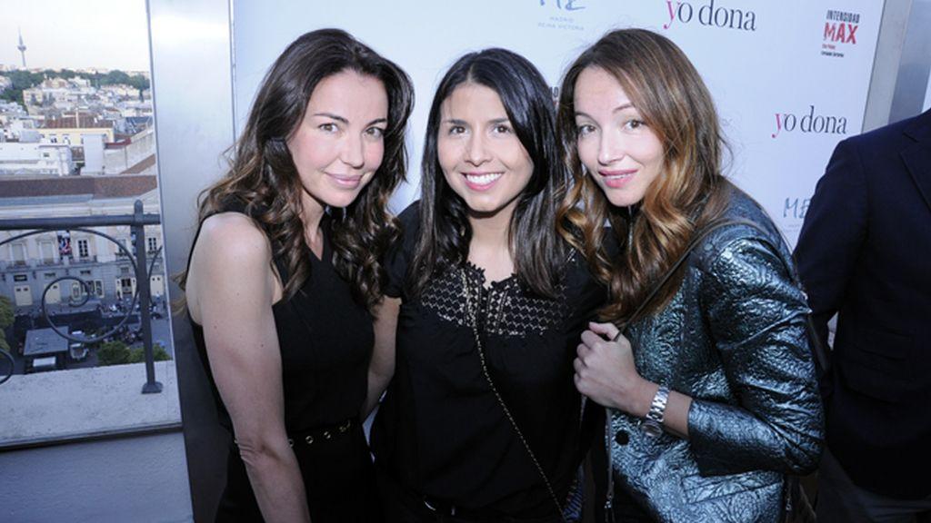 """Sara Verdasco, Rebeca Rojo y Ana Antic, estilista de Elsa Pataky para la presentación de """"Intensidad MAX"""""""