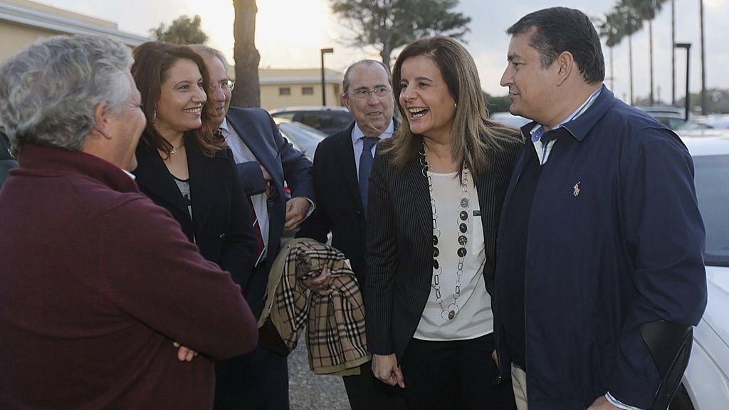 Fátima Báñez en la Escuela de Invierno