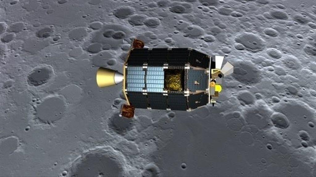 La sonda LADEE se estrella contra la Luna al finalizar su misión