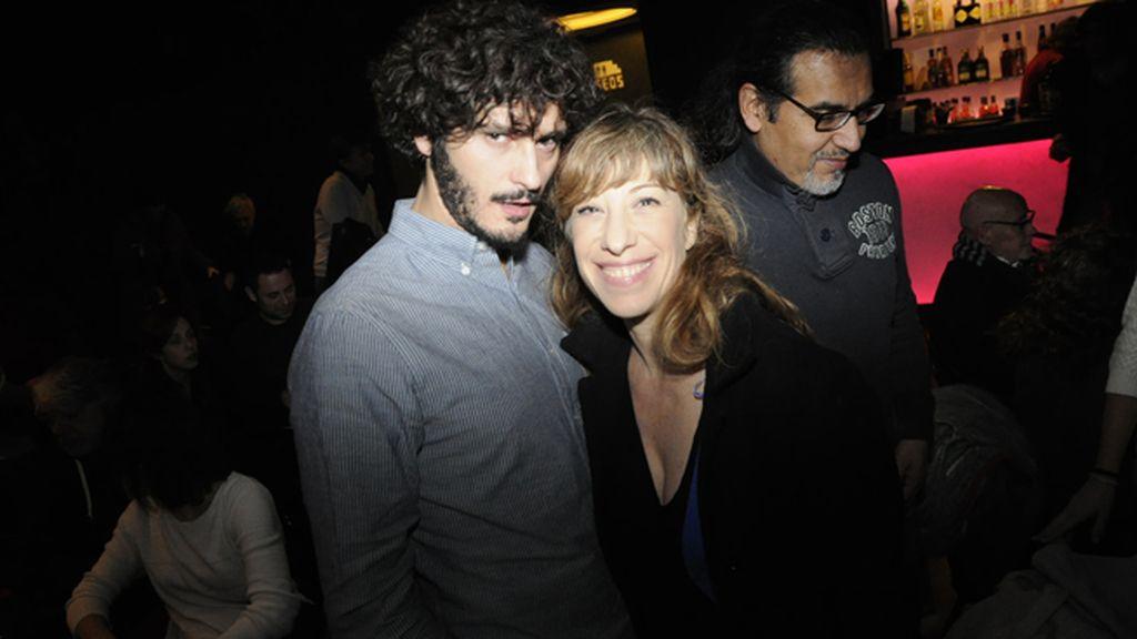 Antonio Pagudo y Nathalie Seseña