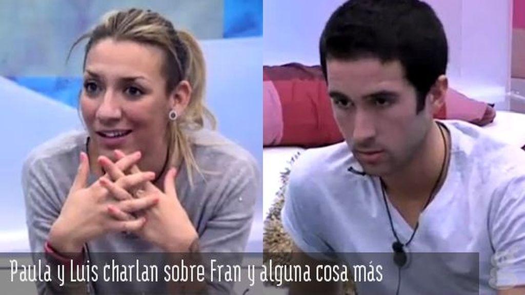 Paula y Luis charlan sobre Fran y alguna cosa más