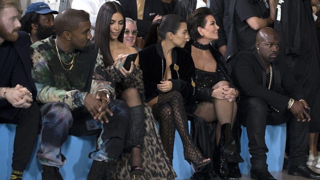 Los Kardashian en la Semana de la Moda de París