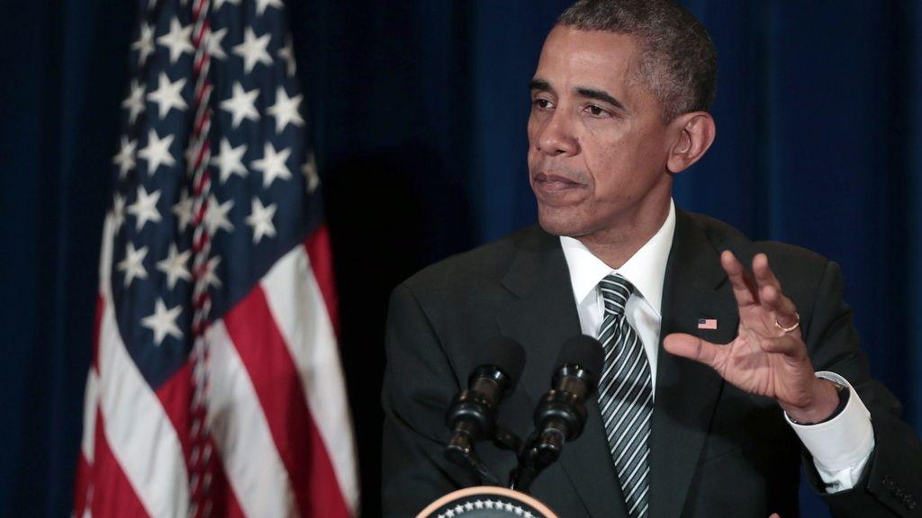 Obama durante la reunión de líderes asiáticos en Malasia