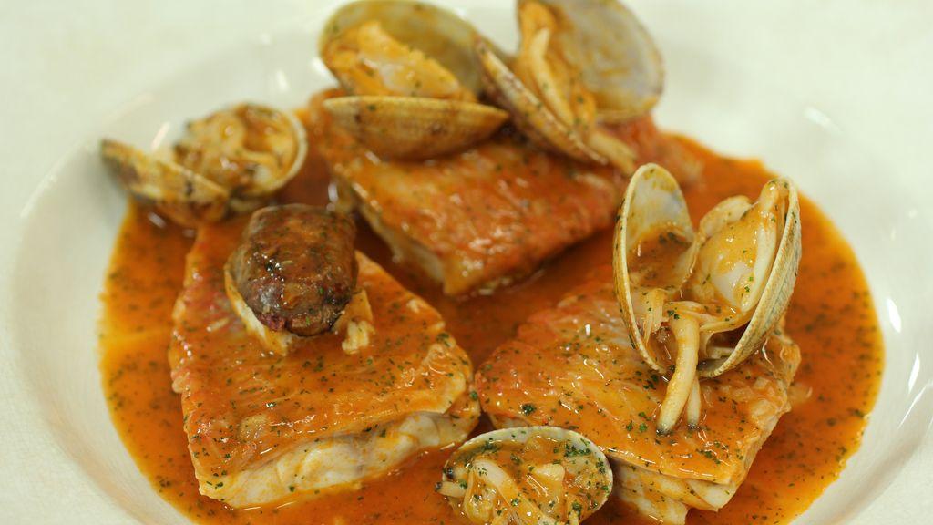 Guiso de salmonetes de 'Robin Food'