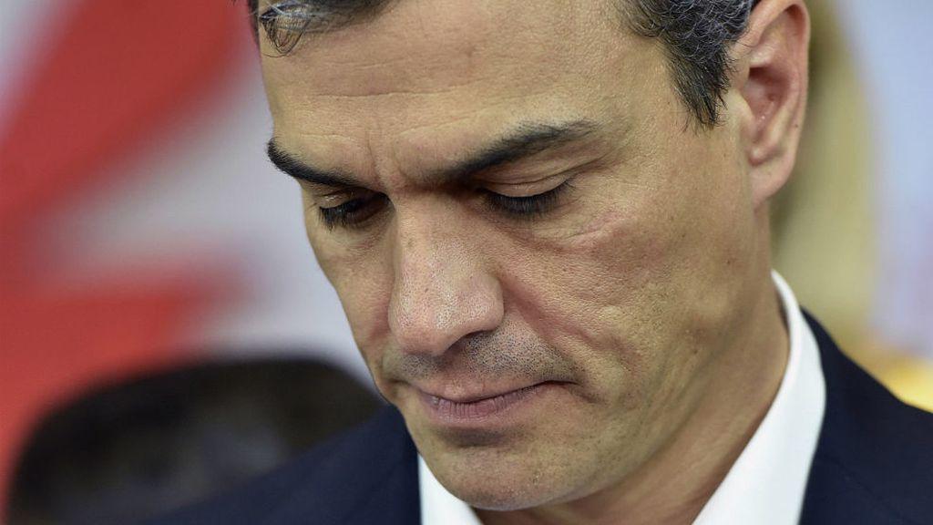 Pedro Sánchez, tras conocer los resultados electorales