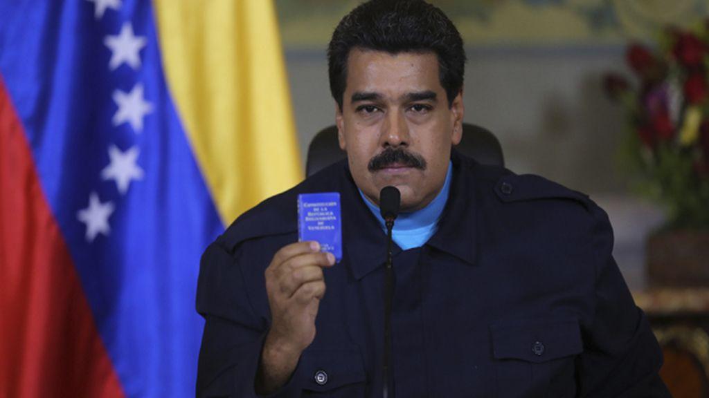 """Maduro denuncia que Obama ha dado """"el paso más agresivo, injusto y nefasto"""""""