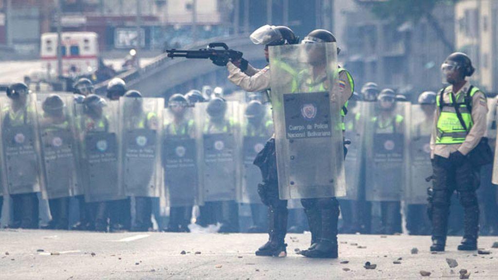 Policía Nacional Bolivariana La oposición venezolana denuncia 126 detenciones arbitrarias