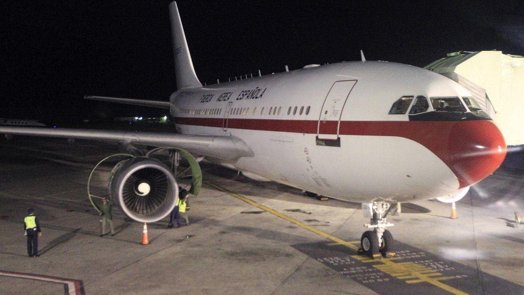 Avion de la reina Sofía