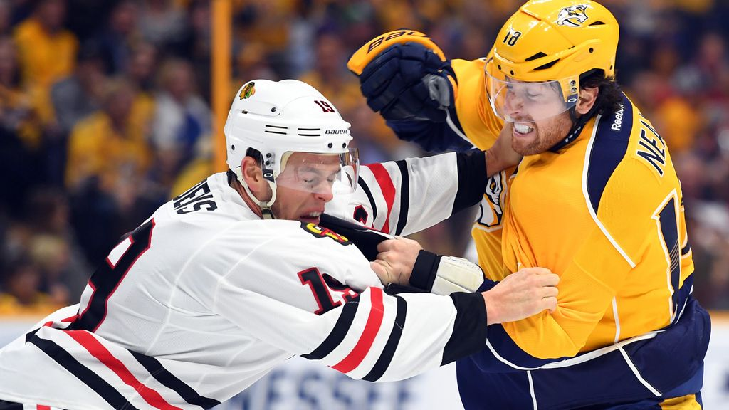 Llegan las primeras peleas de la temporada a la NHL