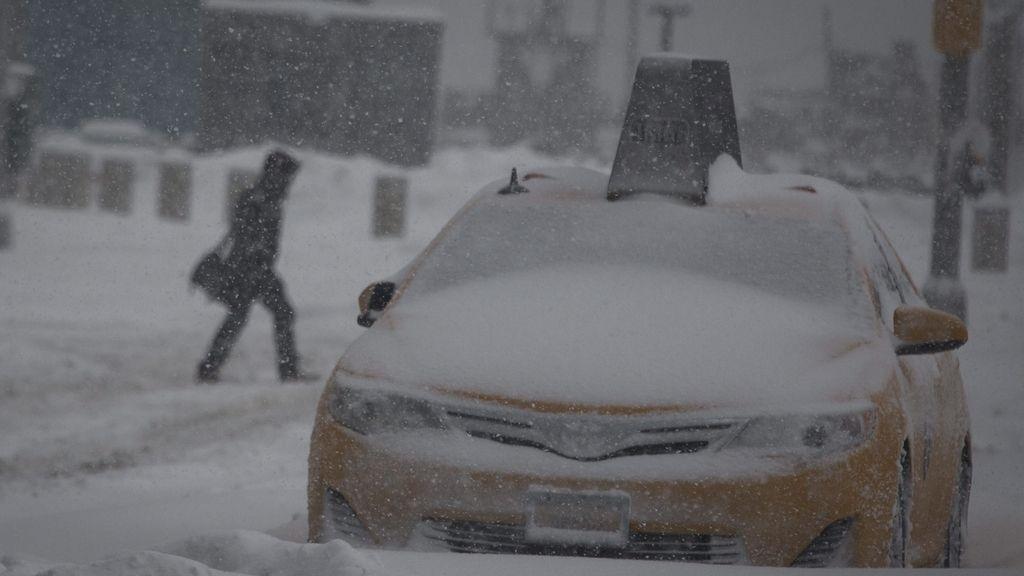 Una nevada 'extremadamente peligrosa'