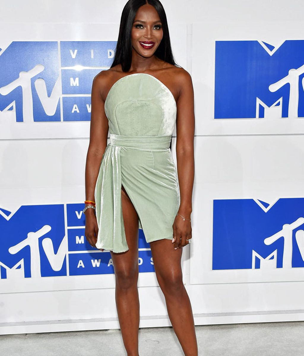 Naomi Campbell en los 'MTV MVA' en Madison Square