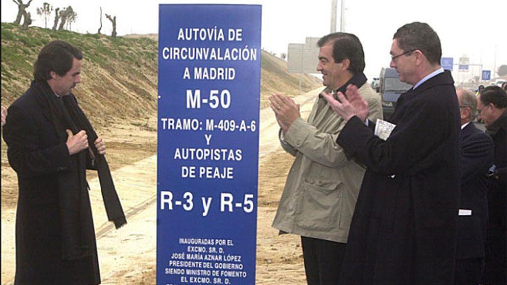 radiales madrid, aznar radiales, autopistas peaje, autopistas radiales R-3 y R-5