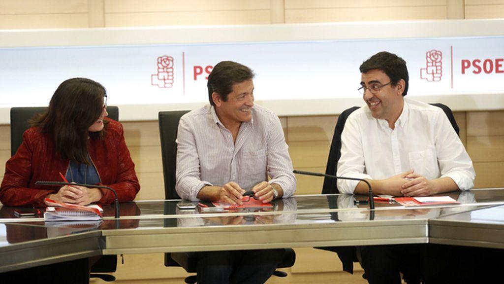 Reunión de la Comisión Gestora del PSOE