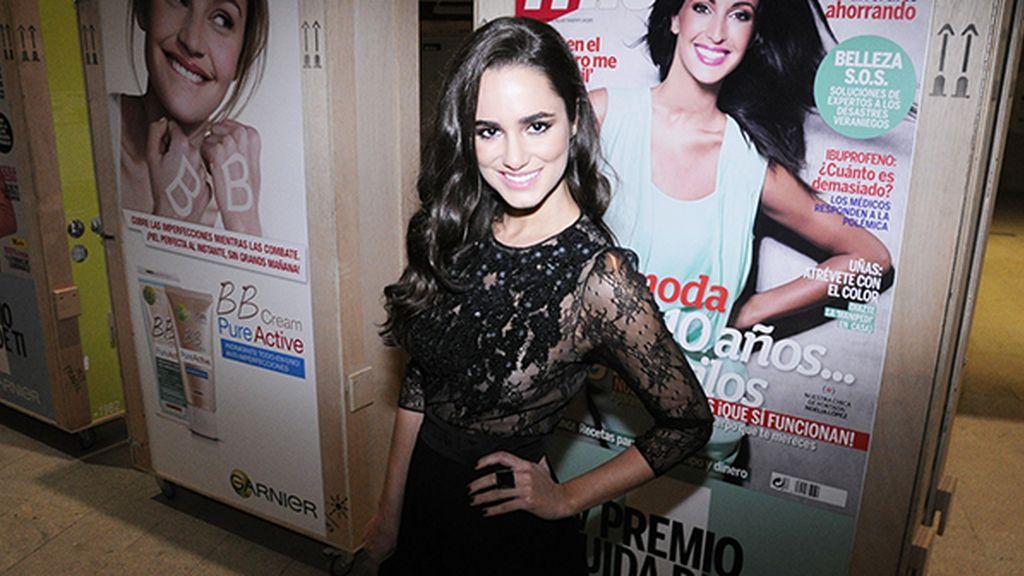Alicia Sanz acudió a los premios con este modelo de Amen