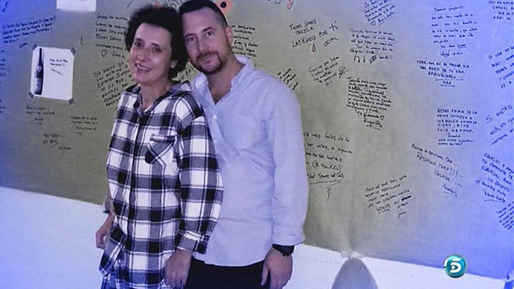 Javier Limón y Teresa Romero