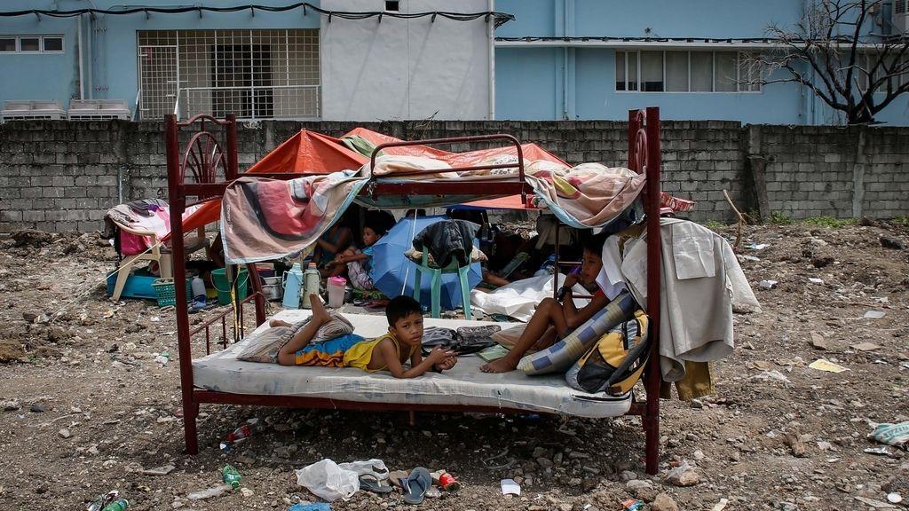 El fuego deja cuatro muertos en Manila