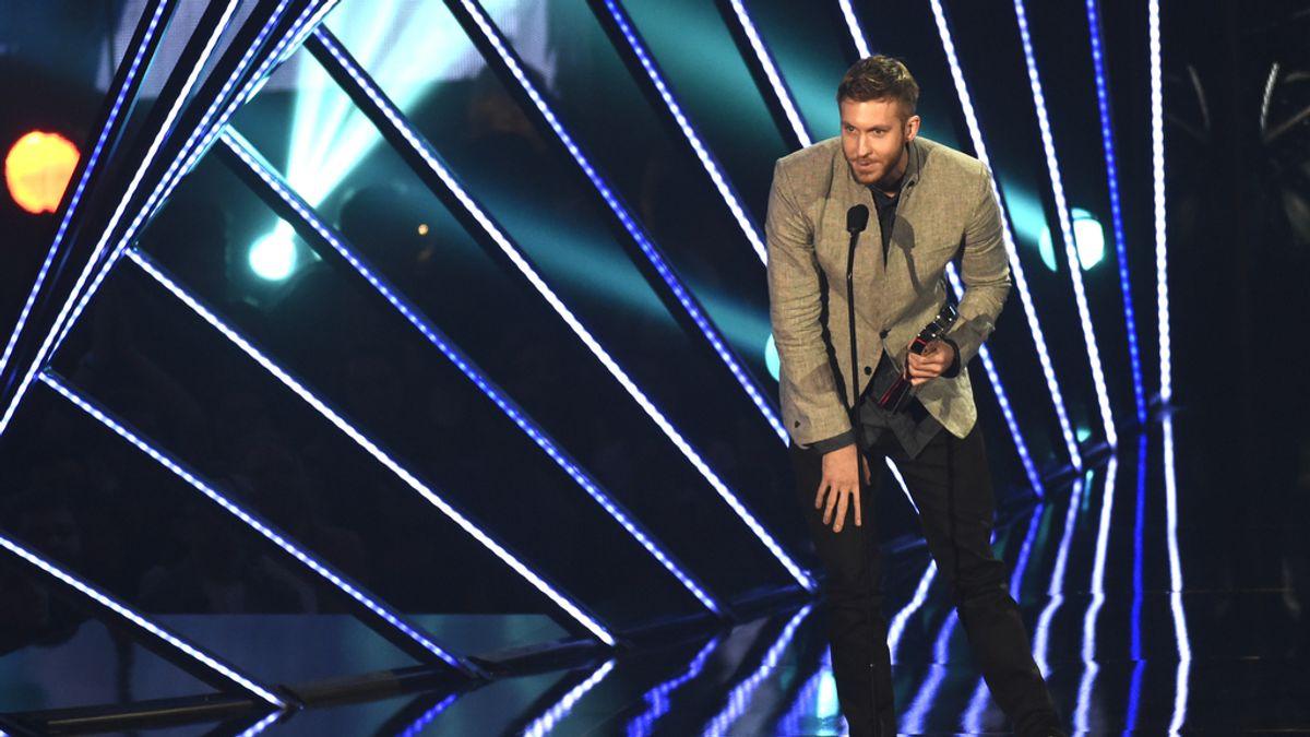 Calvin Harris en los IHearRadio Music Awards