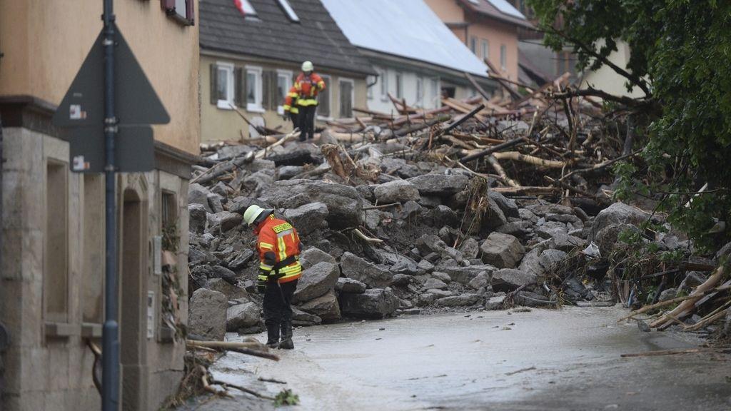 Inundaciones en Braunsbach