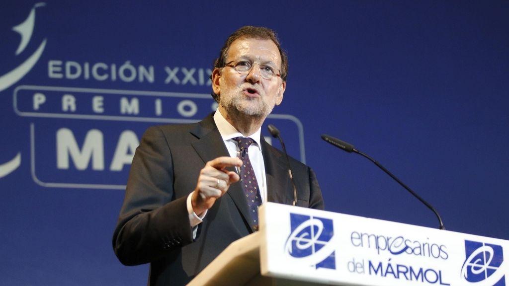 Rajoy asiste a la entrega de los Premios Macael
