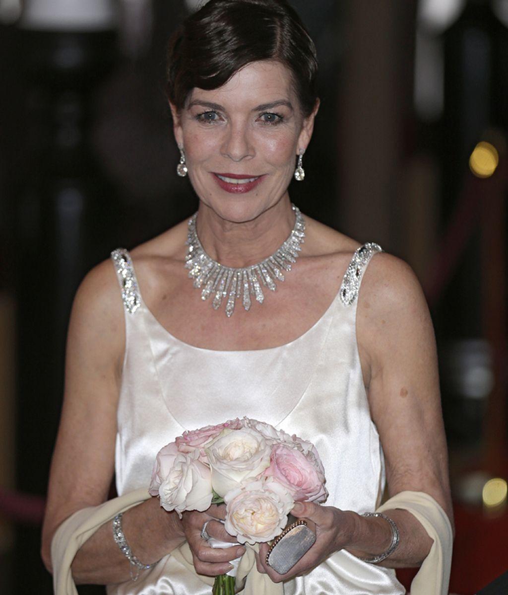 Carolina de Mónaco lució un comentado vestido que no gustó a todos
